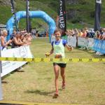 Daniela Bergamaschi, winner of BR 22 km