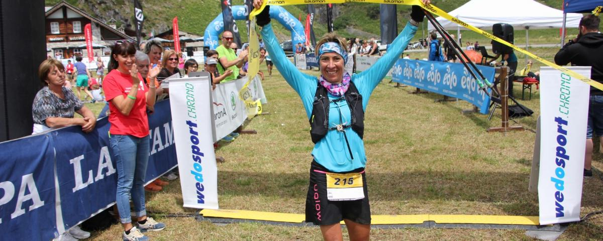 Francesca Canepa, winner of BT 52 km
