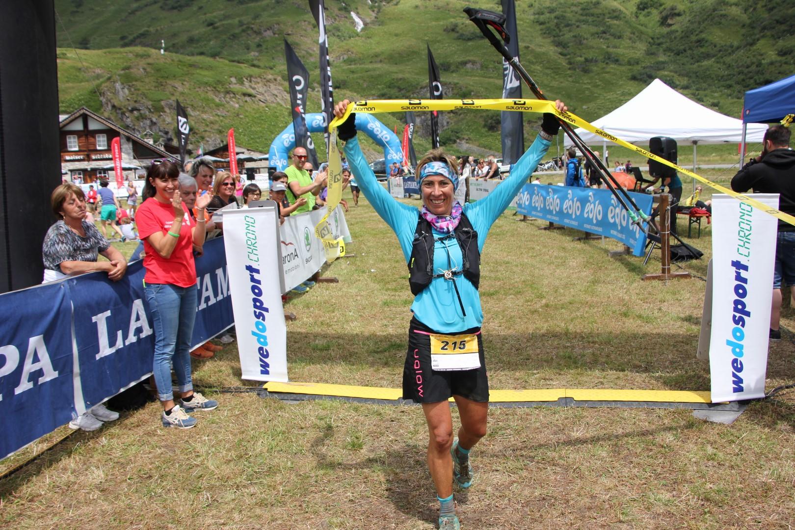 Francesca Canepa, winner of BT 52 km