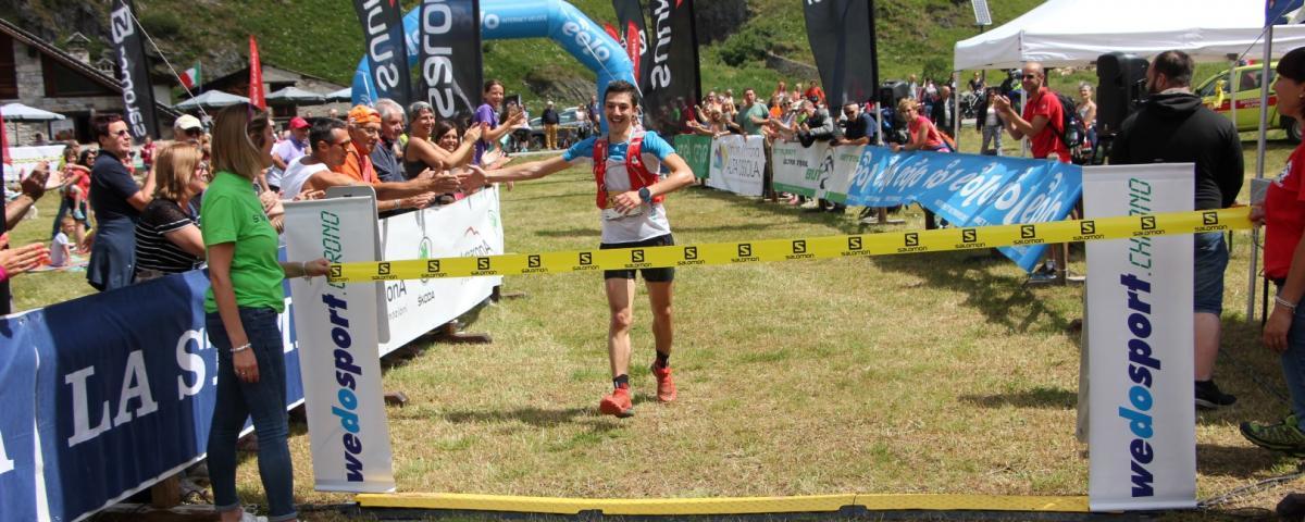 The smile of Riccardo Montani, winner of BT 52 km